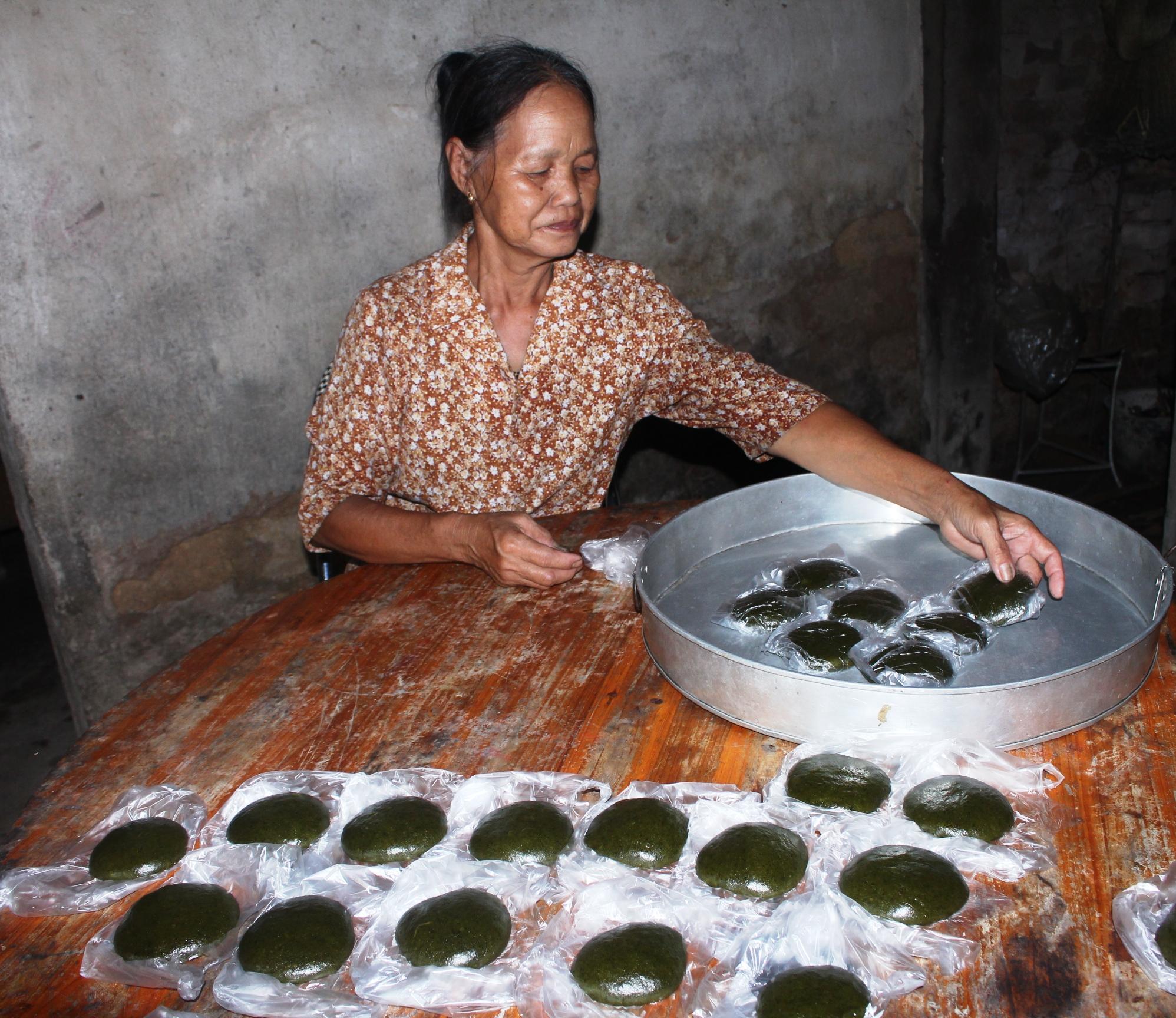 bánh ngải cứu Bình Liêu